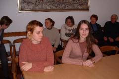 Najbolji studenti pred dodjelu nagrade (slijeva): Dorja Mučnjak (u ime Ive Cvitan) i Petra Gašparac