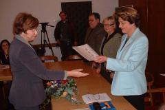 Dodjela nagrade Mariji Šegoti-Novak, ravnateljici Gradske knjižnice Rijeka