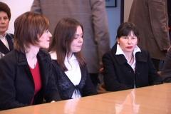 Helena Novak, Lea Ledinski i Tinka Katić