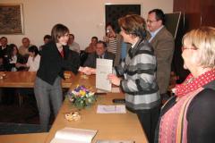 Helena Novak prima nagradu