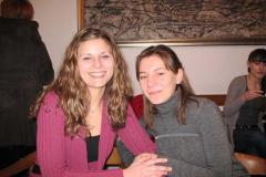 Ana Prpić i Kristina Prusec, najbolje studentice bibliotekarstva 2008./2009.