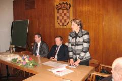Prof. dr. sc. Vladimir Mateljan, prof. dr. sc. Damir Boras i prof. dr. sc. Aleksandra Horvat