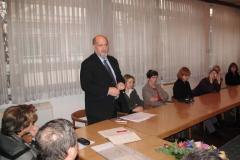 Ravnatelj Nacionalne i sveučilišne knjižnice, prof. dr. sc. Tihomil Maštrović pozdravlja prisutne
