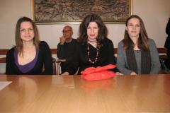 Irena Buđa, Petra Miočić i Martina Piršljin, najbolje studentice bibliotekarstva 2009./2010.