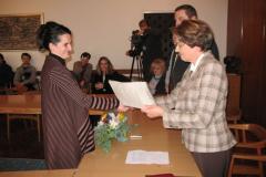 Sandra De Villa prima nagradu
