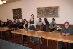 Ida Indir zahvaljuje u ime nagrađenih studentica