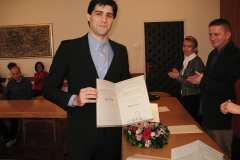 Marko Rimac prima nagradu