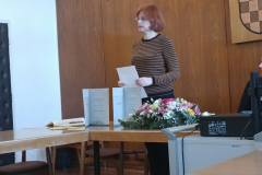 Predsjednica Zakladnog odbora izv. prof. dr. sc. Ana Barbarić