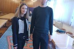 Petra Jeršek i Petar Ćosović s tortom