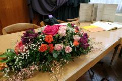 Povelje nagrađenih i cvijeće