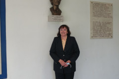Nagrađena Adela Granić, prof. i dipl. bibl., viša savjetnica za stručne suradnike knjižničare u Agenciji za odgoj i obrazovanje
