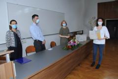Carla Pansini prima nagradu